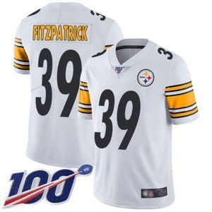 Mens Steelers Minkah Fitzpatrick 100th Jersey